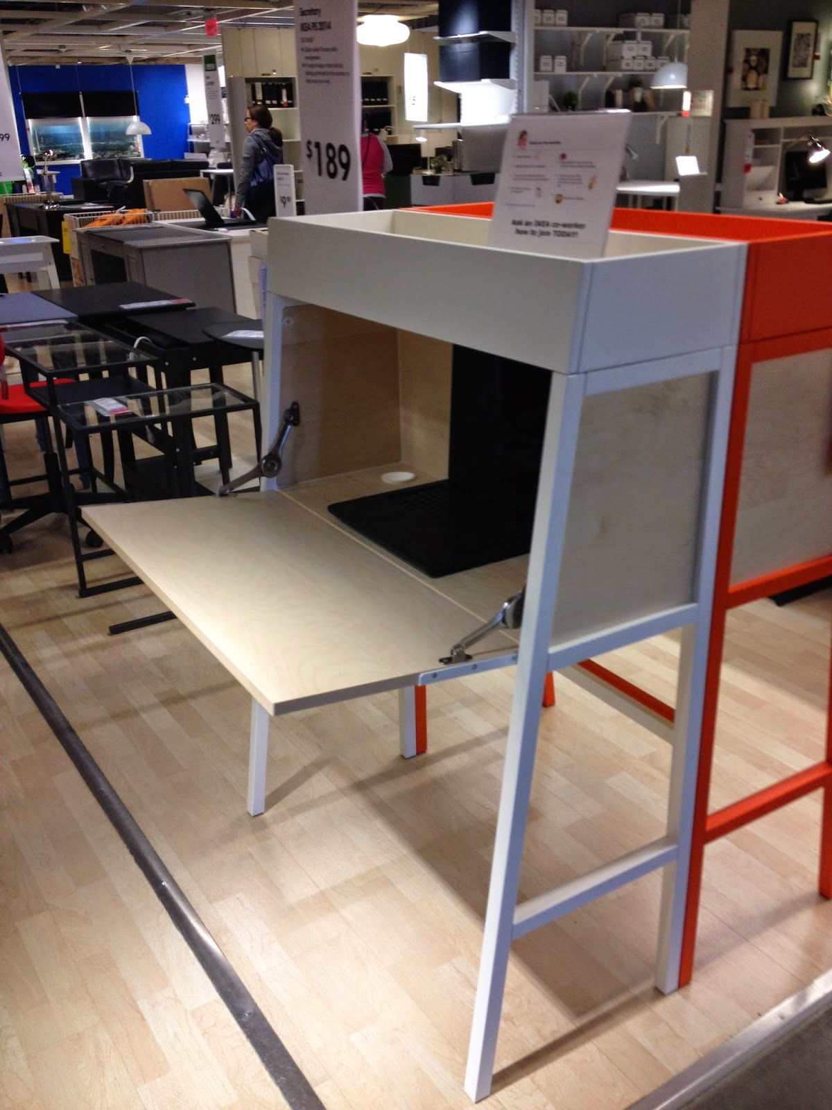 This Is Another Ikea Ps Piece But I Could Not Find It On The Website Was With Desks And Office Furniture In