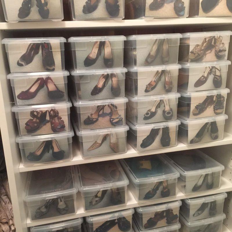 Ingenious Organized Shoe System