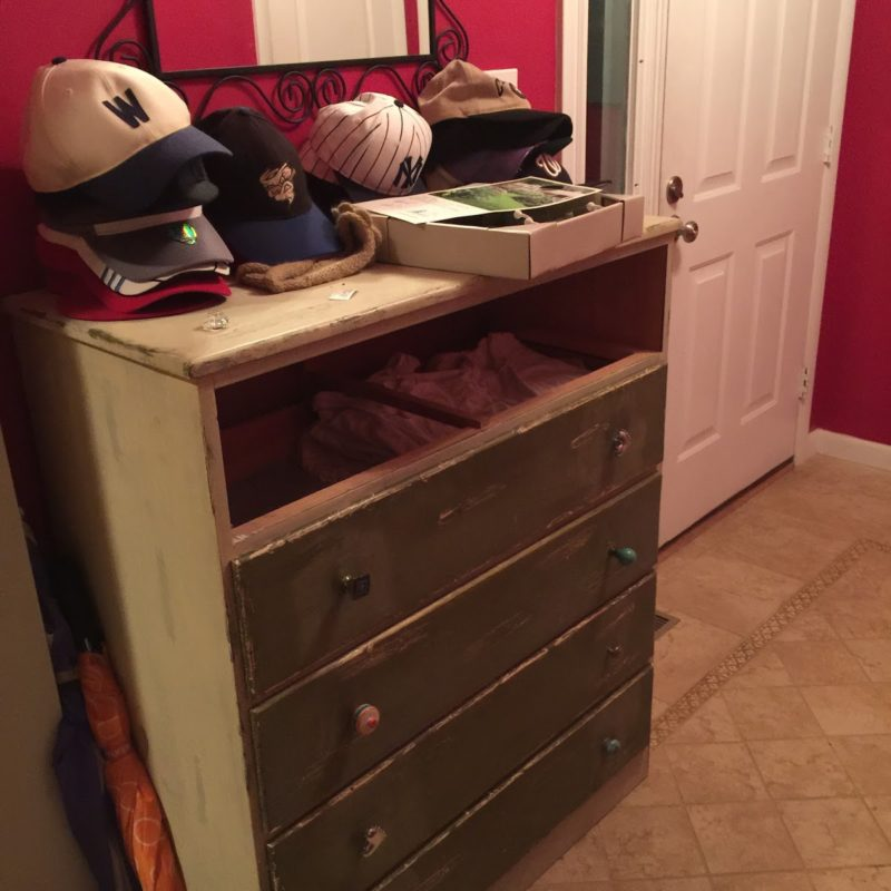 Before/After :: Changes in the Mudroom