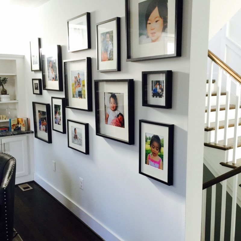 Stunning Gallery Wall for a Family