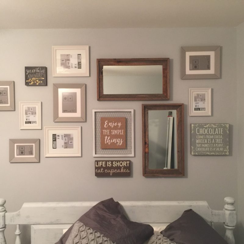 Before/After :: Rustic but Simple Teen Bedroom