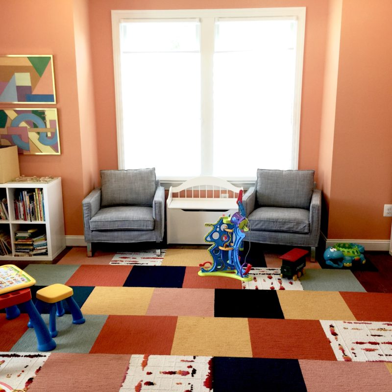 Before/After :: A Colorful Room to Play