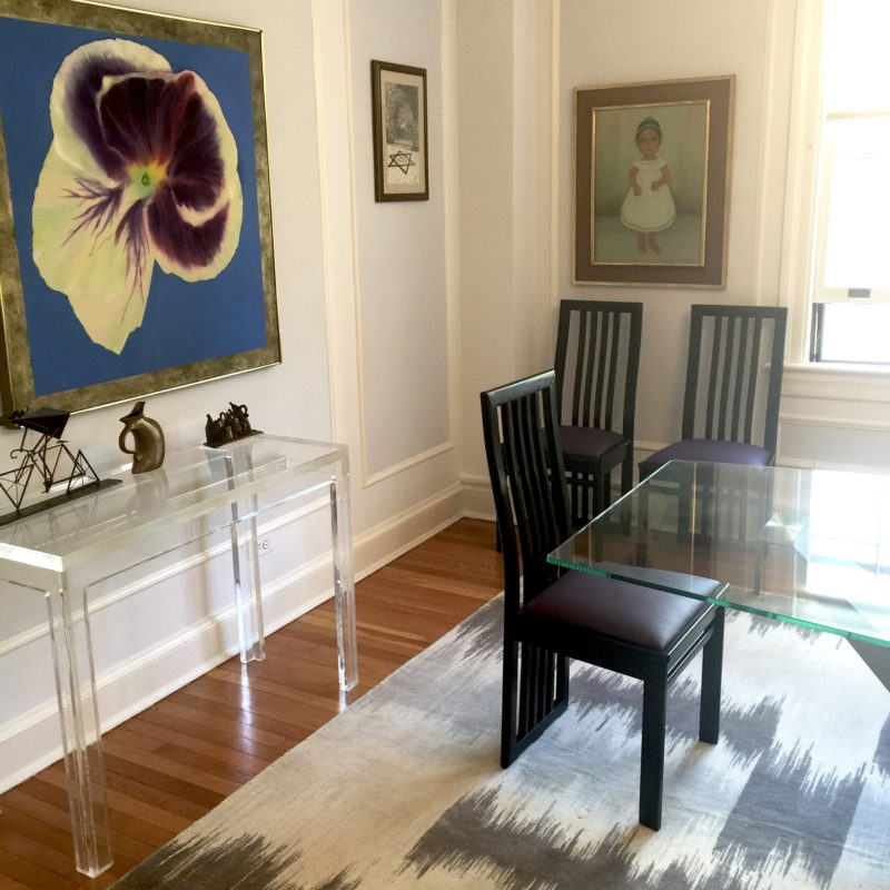 Before/After :: An Elegant Modern Dining Room