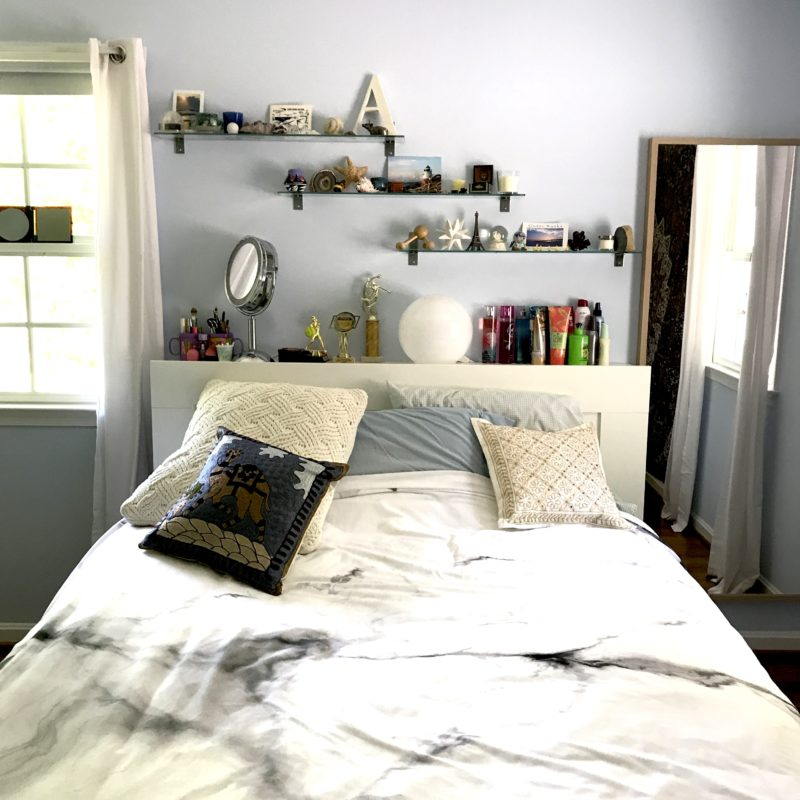 Before/After :: A Pair of Teen Bedrooms