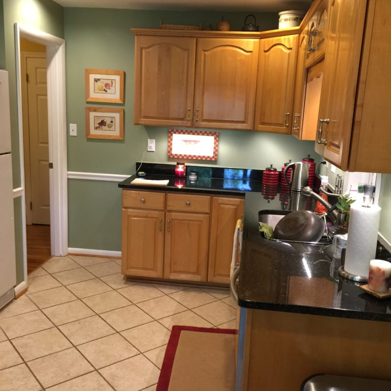 Before/After :: A Kitchen Facelift