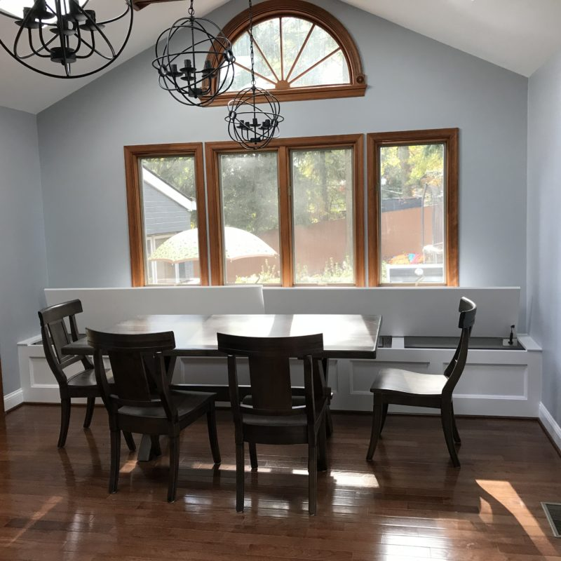 Before/After :: A Sunny Dining Room