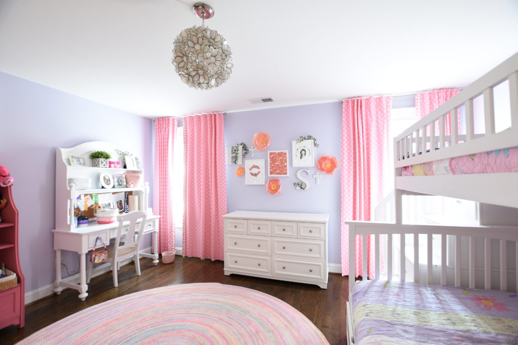 Pretty In Pink Girls Bedroom - 1970 Dogwood Street
